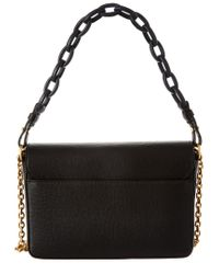 Tory Burch Black Kira Leather Shoulder Bag