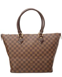 Louis Vuitton - Brown Damier Ebene Canvas Saleya Mm - Lyst