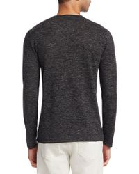 John Varvatos Multicolor Collection Crew Neck Sweater for men