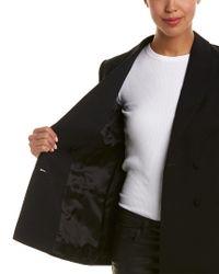 Reiss Black Nola Wool Blazer