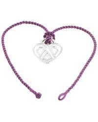 Poiray Multicolor 18k 0.68 Ct. Tw. Diamond Toggle Necklace