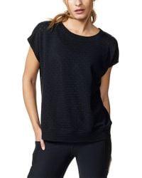 Vimmia Black Short Sleeve Aerie Open Back T-shirt