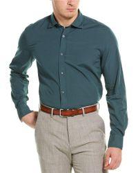 Corneliani Green Sports Shirt for men