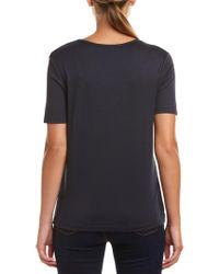 Joan Vass Blue T-shirt