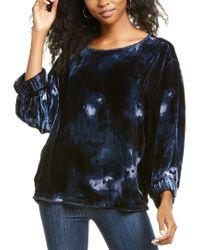Go> By Go Silk Gray Go By Go>silk Velvet Raggedy Ann Silk-blend Shirt