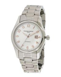Frederique Constant Metallic Men's Stainless Steel Watch for men