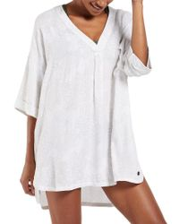 Life Is Good. White ? Beach Cover-up
