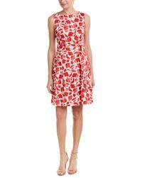 Anne Klein Red Sheath Dress