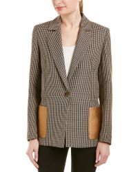 ESCADA Multicolor Wool Blazer