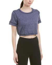 Splendid Blue Studio Crop Top