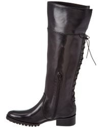 Charles David Black Jayne Leather Boot