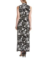 Vince Camuto - Black Petite Maxi Dress - Lyst