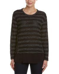Vince Camuto Black Two By Sweater