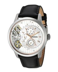 Fossil Multicolor Men's Leather Watch for men