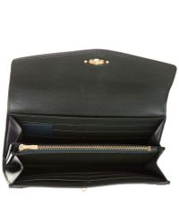 Mulberry Black Darley Leather Long Continental Wallet