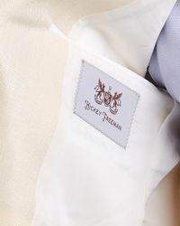 Hickey Freeman Natural Milburn Ii Silk & Wool-blend Sportcoat for men