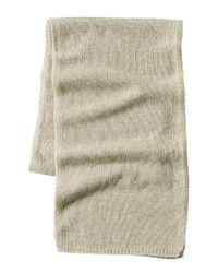Portolano Multicolor Men's Cashmere Knitted Scarf