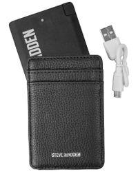 Steve Madden - Brown Elastic Front Pocket Wallet for Men - Lyst
