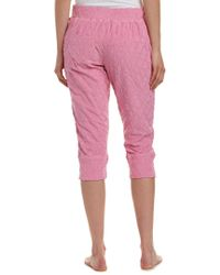 Juicy Couture Pink Crop Jogger