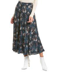 Velvet By Graham & Spencer Multicolor Shay Midi Skirt