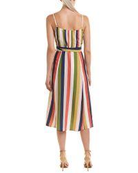 Hutch Green Wrap Dress
