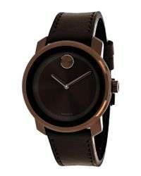 Movado - Black Men's Bold Watch for Men - Lyst