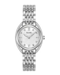 Bulova Metallic Women's Stainless Steel Watch