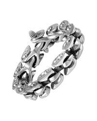 Stephen Webster Metallic Silver Bracelet