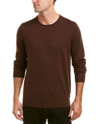 Vince Red Crew Wool & Cashmere-blend Sweater for men
