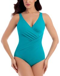 Miraclesuit Blue Must Have 19 Oceanus One-piece