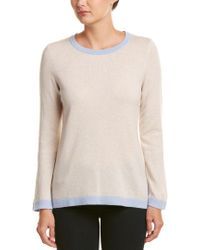Sail To Sable Natural Wool & Cashmere-blend Sweater