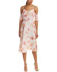 Cece by Cynthia Steffe White Midi Dress