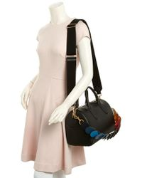 Anya Hindmarch - Black Vere Barrel With Link Strap Leather Bowler - Lyst