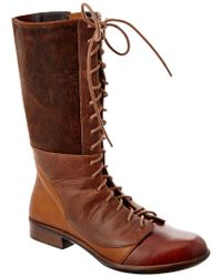 Naot Brown Tide Leather Boot