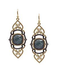 Armenta - Metallic Old World 18k & Silver 22.18 Ct. Tw. Diamond & Gemstone Doublet Earrings - Lyst