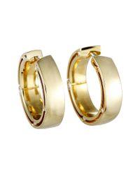 Damiani Metallic 18k 0.16 Ct. Tw. Diamond Earrings