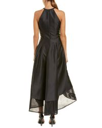 Carmen Marc Valvo Black Gown
