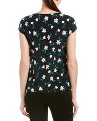 Carolina Herrera Multicolor Silk Top