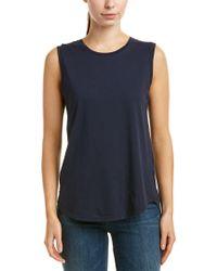 AG Jeans Blue Ashton Muscle T-shirt