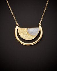 Argento Vivo - Multicolor 18k Over Silver Rainbow Moonstone Necklace - Lyst