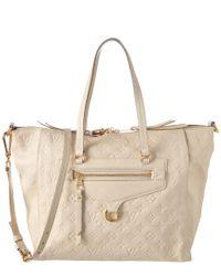 Louis Vuitton Multicolor White Monogram Empreinte Leather Lumineuse Pm