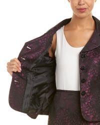 Tahari Purple Tahari Asl 2pc Skirt Suit