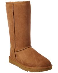 Ugg Brown Classic Tall Ii Water-resistant Twinface Sheepskin Boot