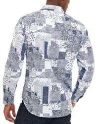 Robert Graham - Blue Bhakti Classic Fit Woven Shirt for Men - Lyst