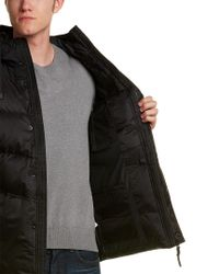 Victorinox - Black Swiss Army Quilted Down Jacket for Men - Lyst