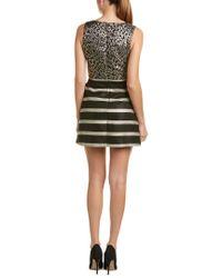 Hutch Metallic A-line Dress