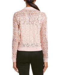 T Tahari - Pink Jacket - Lyst