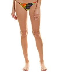 MILLY - Orange Cabana Elba Bikini Bottom - Lyst