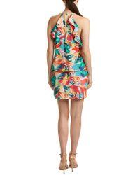 Amanda Uprichard Pink Silk Shift Dress