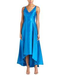 Belle By Badgley Mischka Blue Gown